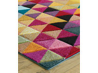 433bf233d8d Piccadilly Geometric 526 Multi - New Oriental Weavers Rug