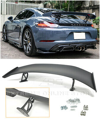 For 17-Up Porsche 718 Cayman & Boxster | GT4 Style Rear Trunk Lid Wing Spoiler
