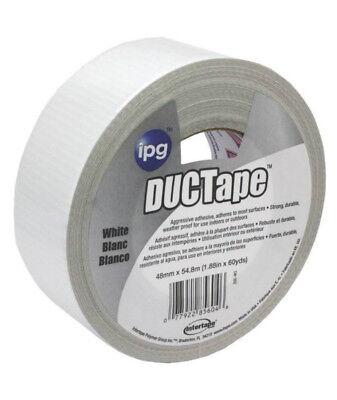 Intertape 20c-w2 Weatherproof Duct Tape White 1.87 X 60 Yard