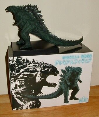 SEGA Monster Planet GODZILLA 2017 Figure PVC Sealed Box In USA