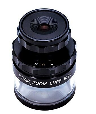 """PEAK / HIGH QUALITY ZOOM LOUPE """"1020"""" - 10~20x / 2066 / MADE IN JAPAN"""