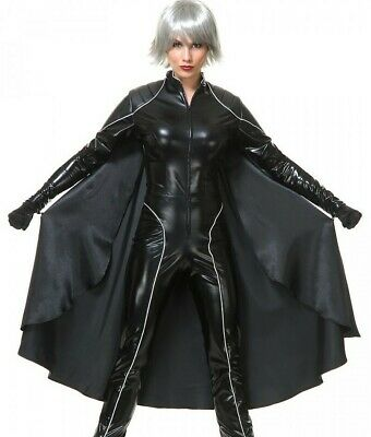 Deluxe Storm Costume Womens Adult Thunder Superhero Xmen X-men