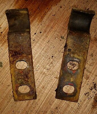 Massey Harris 22 Tractor Hydraulic Oil Line Brackets Mh Parts 20 81
