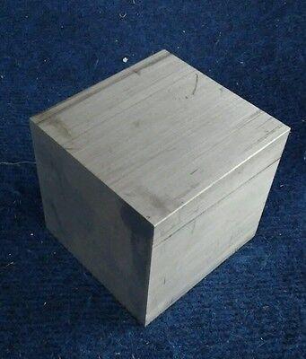 4 X 4 X 4 Long New 6061 Solid Aluminum Plate Flat Bar Stock Cnc Mill Block