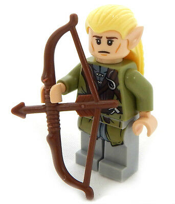 NEW LEGO LEGOLAS MINIFIG lord of the rings figure minifigure lotr elf bow