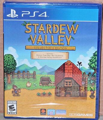 Stardew Valley  Collectors Edition  Sony Playstation 4  2017