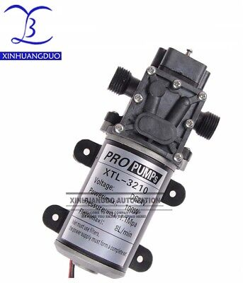 100w Dc24v Volt Electric Water Pump 8lmin Diaphragm Pump 3210
