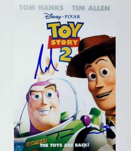 Tom Hanks / Tim Allen (  Toy Story ) Autographed Signed 8x10 Photo Reprint