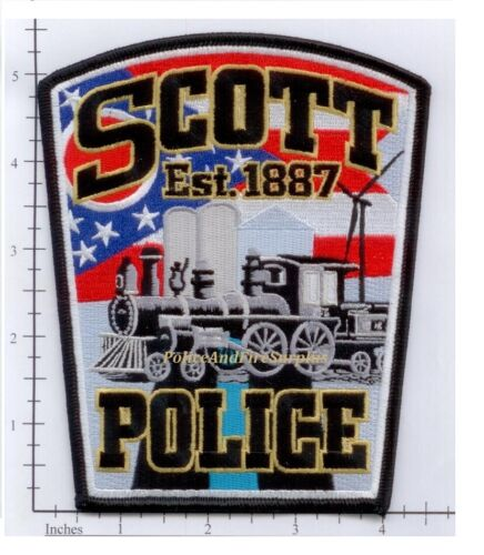 Ohio - Scott OH Police Dept Patch