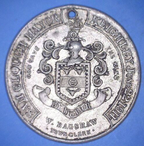 1911 KEIGHLEY COMMEMORATION OF CORONATION OF GEORGE V / QUEEN MARY - *07005826