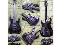 ESP LTD H-1001 6-String Electric Guitar + CNB Gig Bag + Dunlop Strap