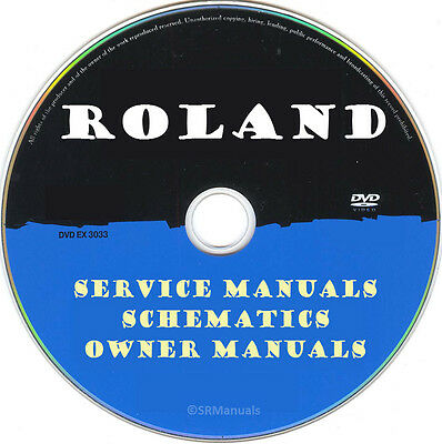 Roland Printers Copier MFC SERVICE MANUALS- Latest PDFs on DVD- SRManuals
