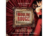 Secret Cinema, Moulin Rouge Tickets