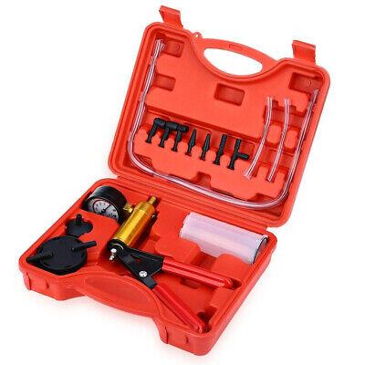2 In 1 Brake Bleeder & Vacuum Pump Gauge Test Tuner Kit Tools DIY Hand Tools Hot