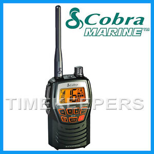 COBRA MR HH125 Handheld VHF Marine EU Version LCD Radio for Boat Vessel Yacht