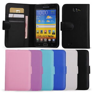 NEW-WALLET-LEATHER-FLIP-CASE-COVER-FOR-SAMSUNG-GALAXY-NOTE-N7000-I9220