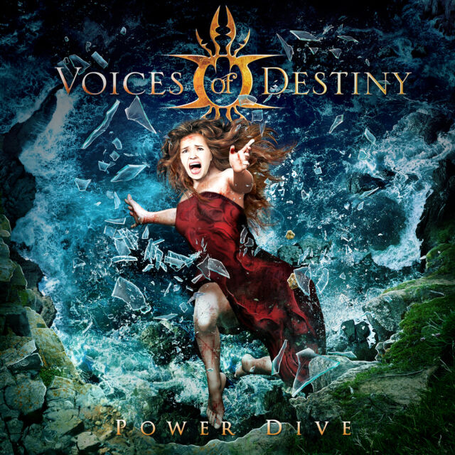 VOICES OF DESTINY Power Dive Digipak-CD ( 205734 )   Female Fronted Gothic Metal