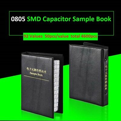 0805 Smdsmt Capacitors Components Samples Book Capacitor Assorted Kit 92 Values