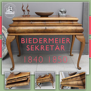 vintage wilhelmian sekret r biedermeier desk schreibtisch pre mid century modern. Black Bedroom Furniture Sets. Home Design Ideas