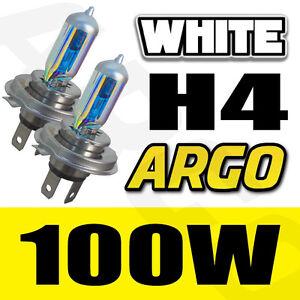 h4 phare halog ne blanc brillant voiture ampoules de lampe 100w 12v 8500k ebay. Black Bedroom Furniture Sets. Home Design Ideas
