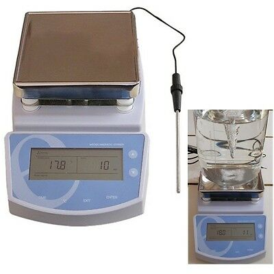 Best Accurate Digital Hot Plate Magnetic Stirrer Electric Heating Mixer 300℃