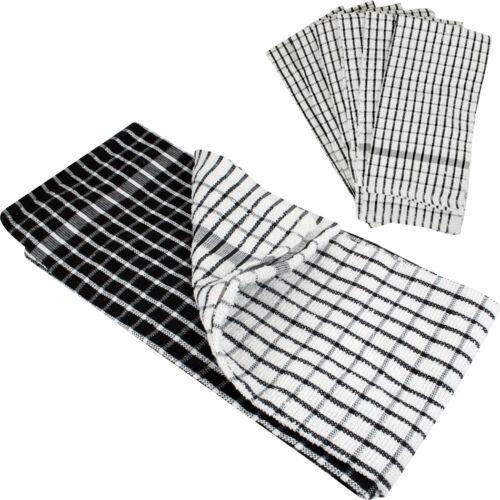 6 x tea towels 100  cotton kitchen cleaning dish cloths
