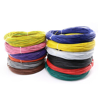 Rohs Ul1007 22awg Pvc Electrical Cable Stranded Hook-up Wire Tinned Copper Cable