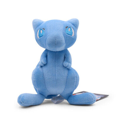 Pokemon Center Blue Shiny Mew Plush Doll Stuffed Animal Figure Toy 7 inch Gift