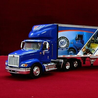 LAST RARE & NEW - MEYERS TRANSPORT CANADA IH 9100I 53FT. Trlr. - 1/64 DCP 31698