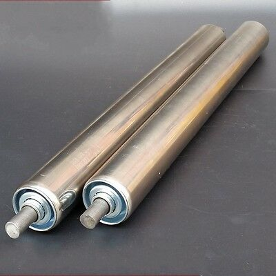 38mm DIA Stainless Steel Heavy Duty Assembly Line Conveyor Roller 800-1000mm ()