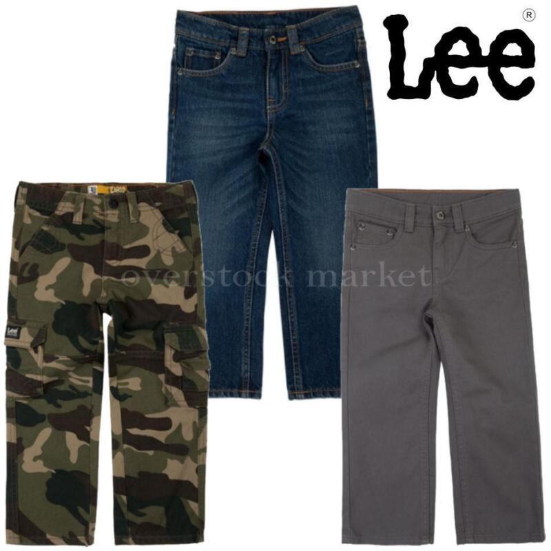 NEW BOYS LEE SURE 2 FIT STRAIGHT LEG OR SLIM FIT ADJUSTABLE WAIST JEANS! VARIETY