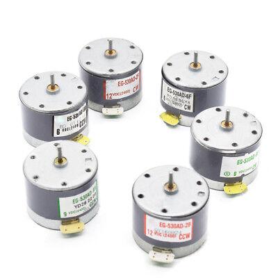 6v 9v 12v Dc 530 Motor Eg-530ad-2b2f 2400rpm Ccwcw Dc Motor For Diy Parts