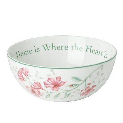 Lenox Butterfly Meadow Tiger Home is Where the Heart is China  Bowl  NEW   Butterfly Meadow Tiger