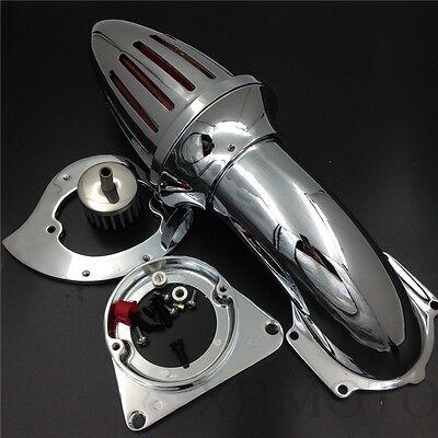 X. Spike Air Cleaner Intake Kits Chromed For Kawasaki Vulcan 800 1995-2012