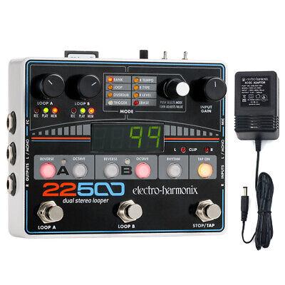Electro-Harmonix 22500 Dual Stereo Looper Pedal  w/power supply