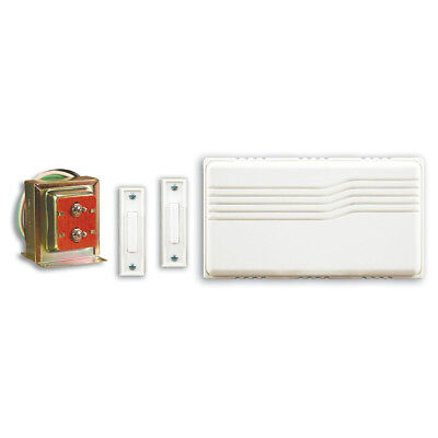 Wired Door Chime Contractor Kit with Mixed Push Buttons