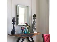 Large Bevelled Edge Mirror