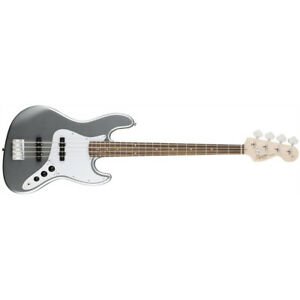 Fender Squier Affinity Jazz Bass RW Fingerboard Slick Silver Electric Guitar DEM
