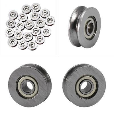 10pcs V623zz 3124mm Skateboard Bearing Miniature Bearing V-groove Bearings