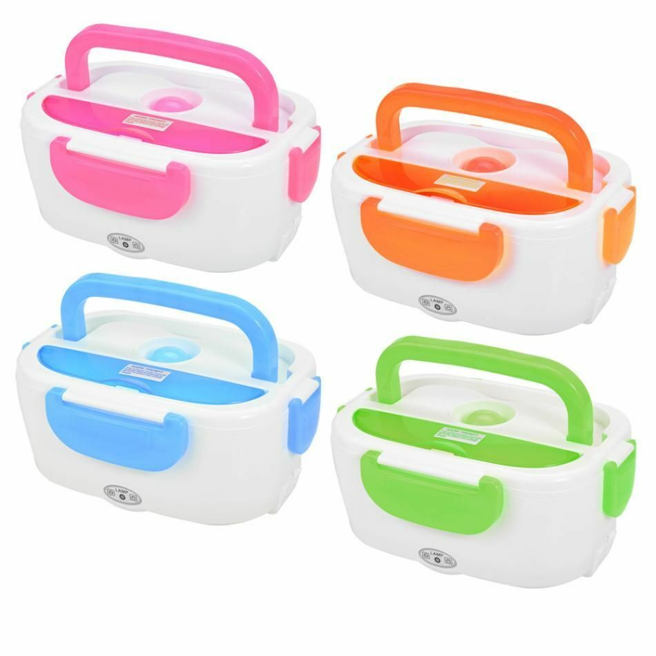 Electric Heating Lunch Box Portable Kids Food Container Ther