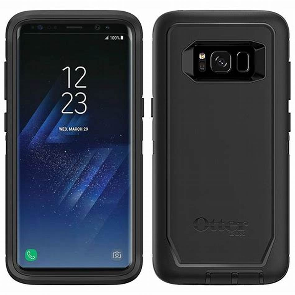 OtterBox DEFENDER SERIES for Samsung Galaxy S8 ONLY (Black)
