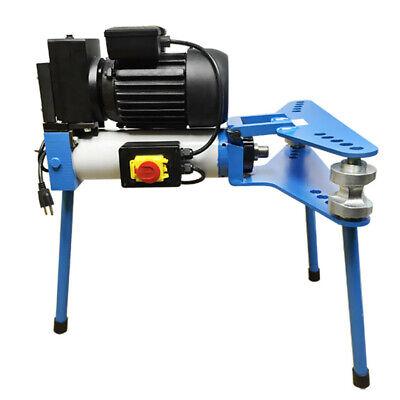 12 - 2 Electric 10 Ton Hydraulic Pipe Tube Bender Bending 110v Motor 6 Dies