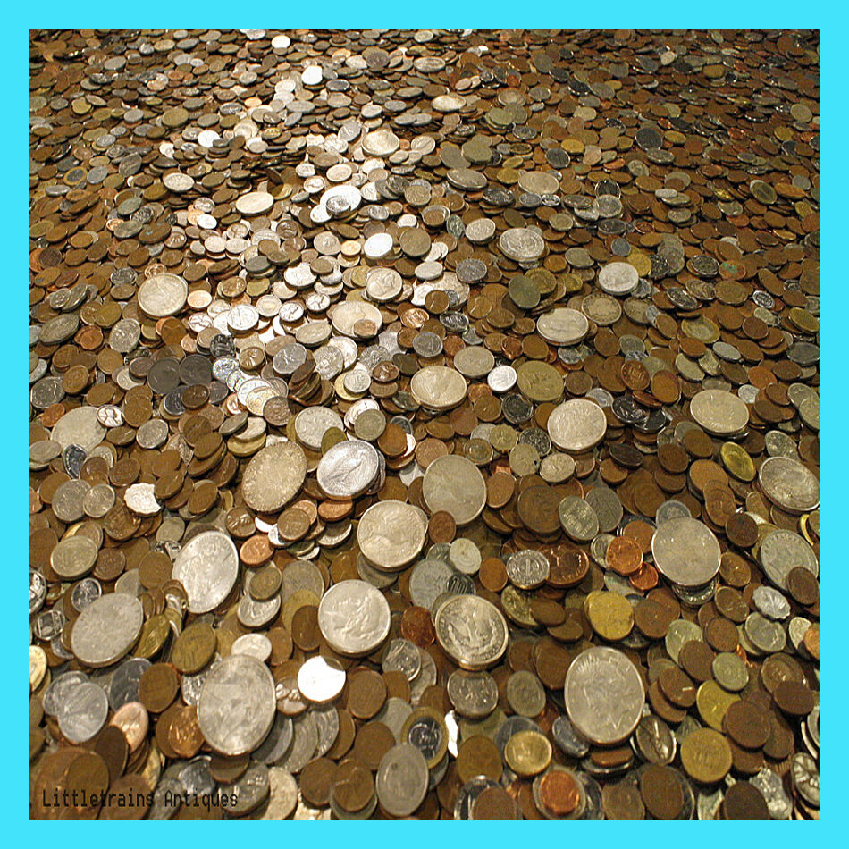 Best  HUGE OLD COIN COLLECTION ESTATE SALE LOTS SET BY THE POUND WITH SILVER COINS !