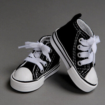 Black Dollmore Sooni Sneakers 1//4 Scale 17 inch BJD shoes MSD