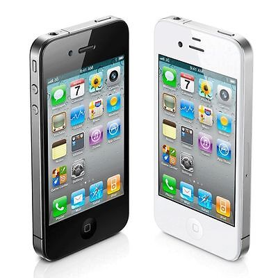 IPHONE 4,4S-8gb-16gb-32gb BLACK-WHITE(AT&T-UNLOCKED)MINT CONDITION-WITH WARRANTY](iphone 4s 32gb white)