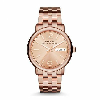 Authentic Marc by Marc Jacobs MBM3439 Fergus Women's Rose Gold Watch