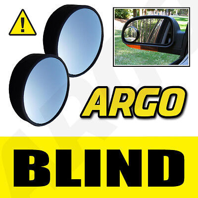 2 X BLIND SPOT CONVEX MIRRORS TOWING CAR SAFETY CITROEN BERLINGO VAN ESTATE