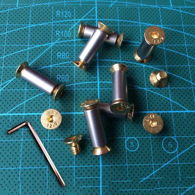 12.9 Steel Knife Handle Bolt Rivets Scale Screw Diy Making Material Fastener Nut