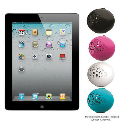 "Apple iPad 2 16GB 9.7"" Wi-Fi Tablet and Bluetooth Speaker Bundle - MC769LLA"
