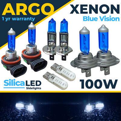 Para Ford Focus Faro MK3 Azul Hielo Xenon LED 100w Niebla Lado...